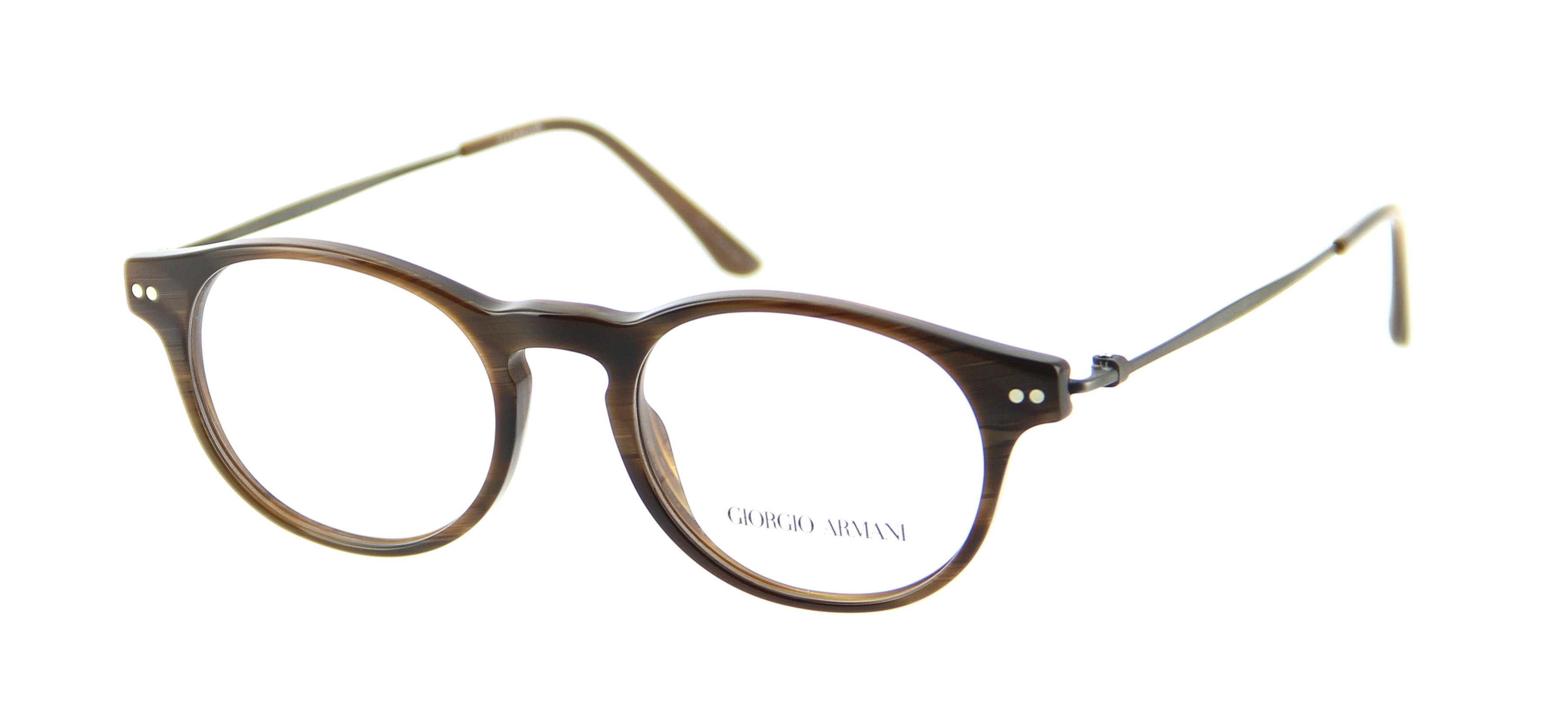 Armani Glasses Frames 2015 : Eyeglasses GIORGIO ARMANI AR 7010 5023 47/18 Man Marron ...