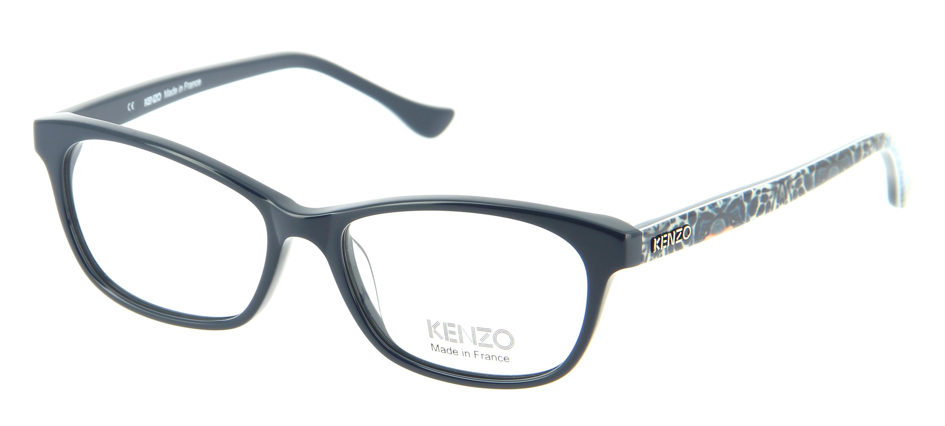 Kenzo Glasses Frames : Eyeglasses KENZO KZ 2208 C02 52/15 Woman bleu square ...