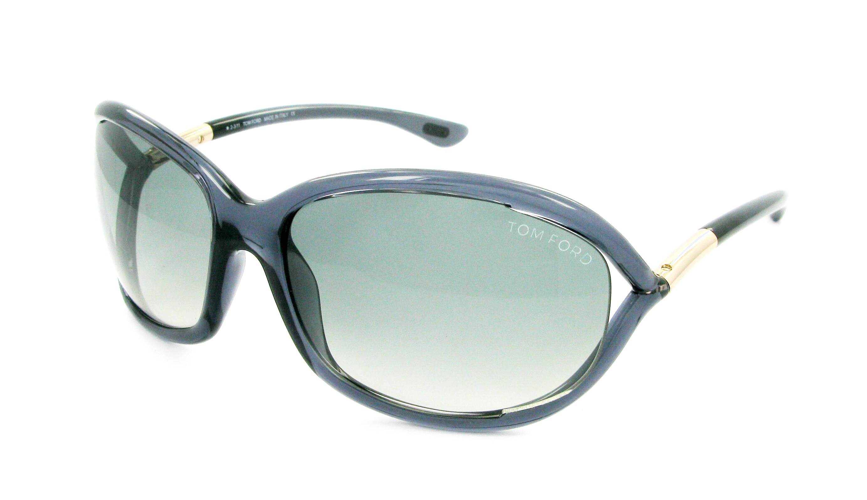 Sunglasses TOM FORD FT 0008 0B5 61/16 Woman gris Round ...