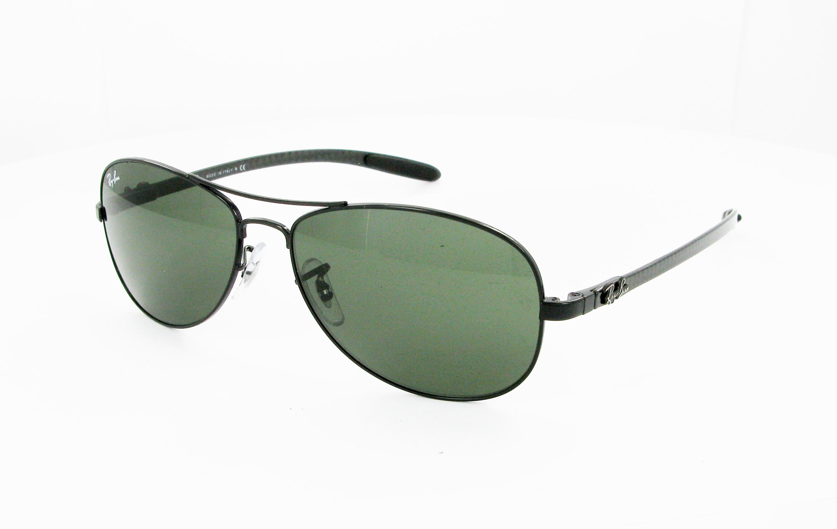 ray ban lunettes de soleil tech rb8301 argenté homme