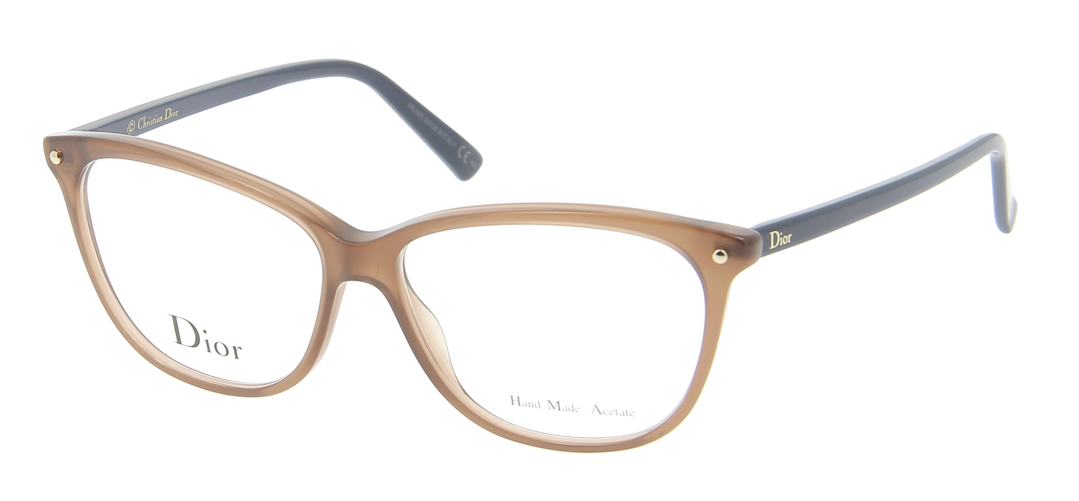 Glasses Frames Dior : Eyeglasses DIOR CD 3270 3LG 53/13 Woman Marron clair ...