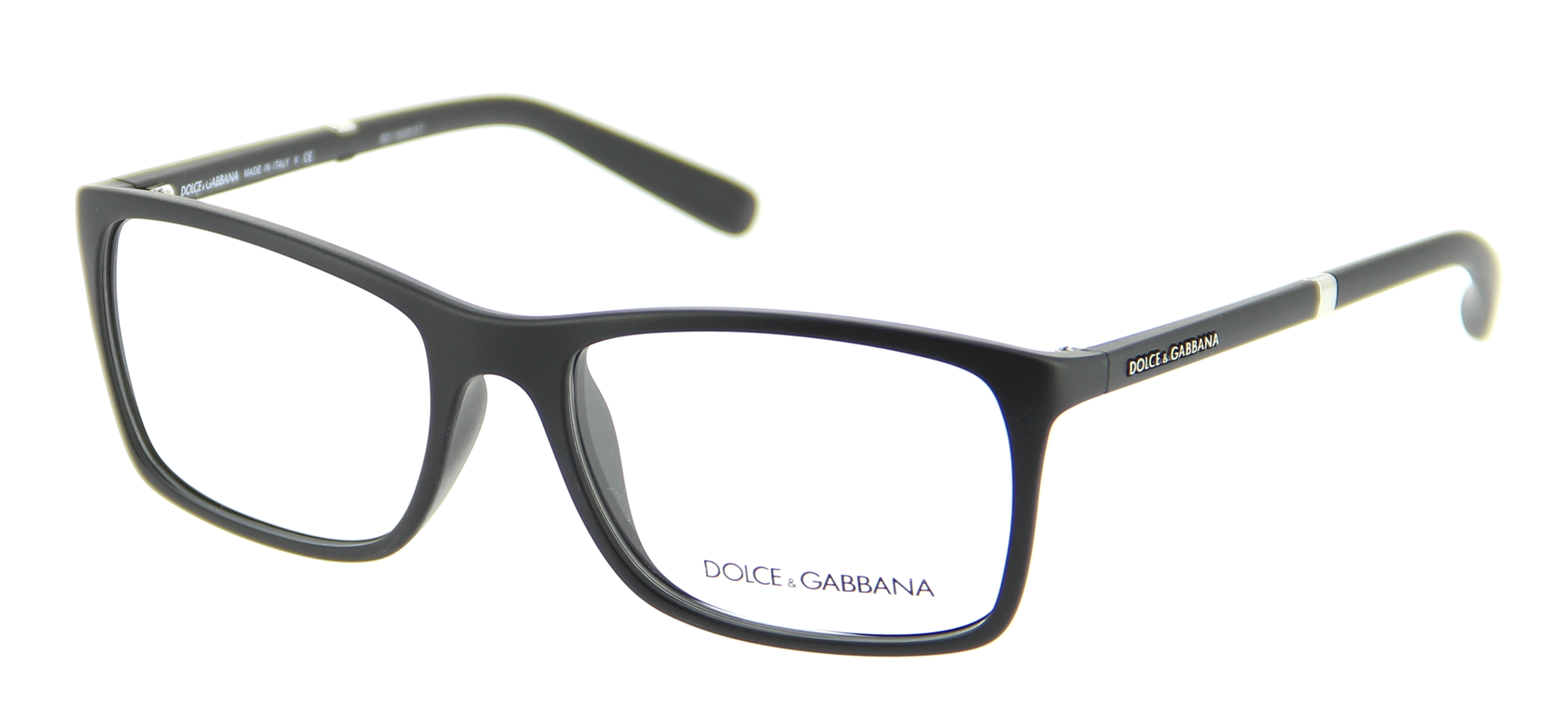 lunettes de vue dolce gabbana dg 5004 2616 55 17 mixte noir rectangle cercl e tendance. Black Bedroom Furniture Sets. Home Design Ideas