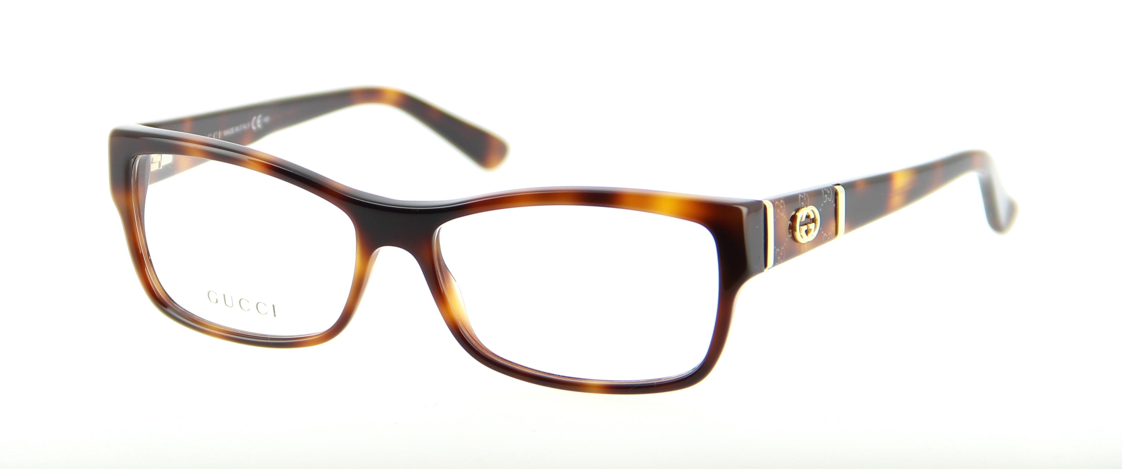 lunettes de vue gucci gg 3133 05l 54 15 femme ecaille rectangle cercl e tendance 54mmx15mm 201. Black Bedroom Furniture Sets. Home Design Ideas