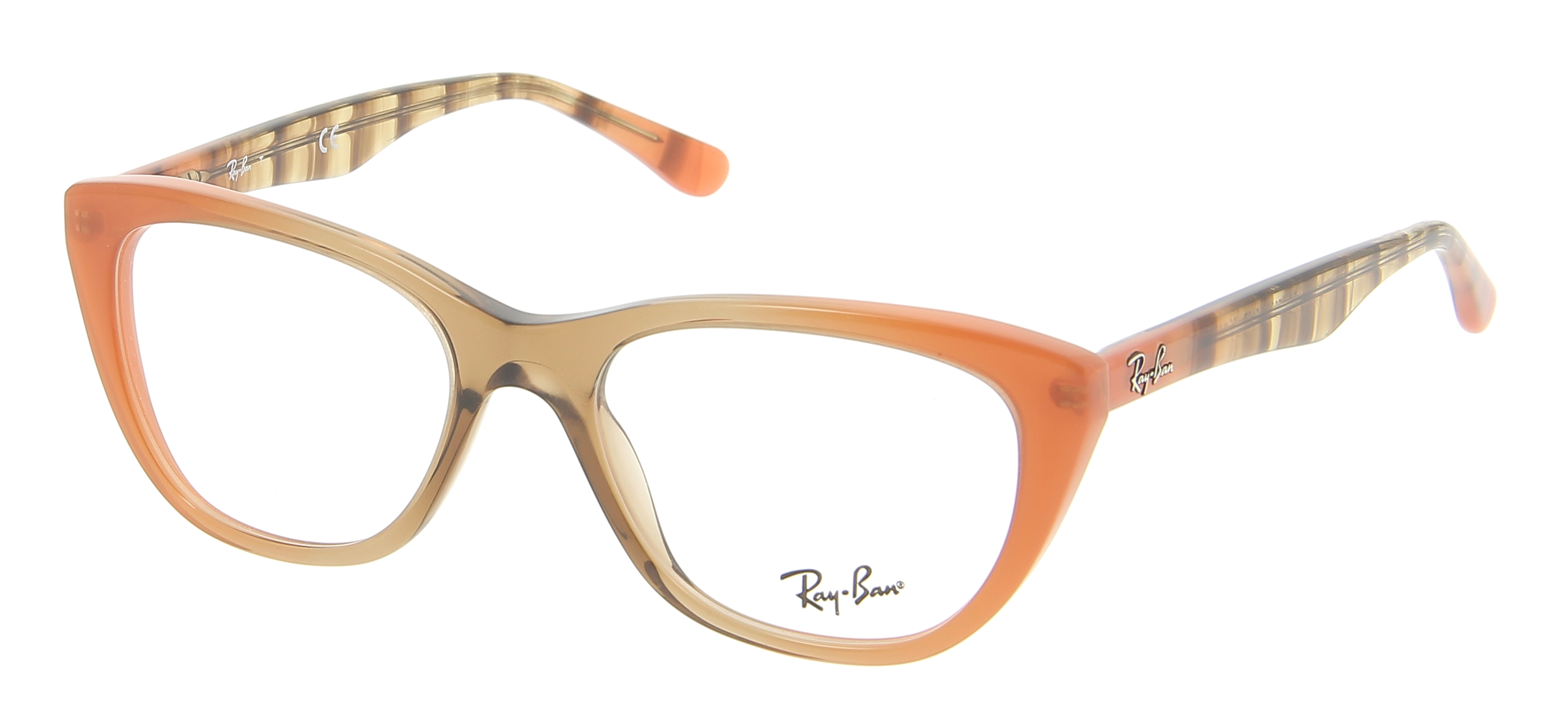 Eyeglasses RAY-BAN RX 5322 5487 53/18 Woman Marron ...
