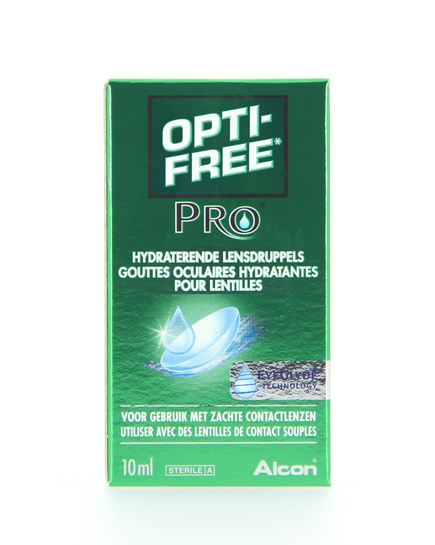 OPTI-FREE PRO HYDRATANT Flacon de 10ml