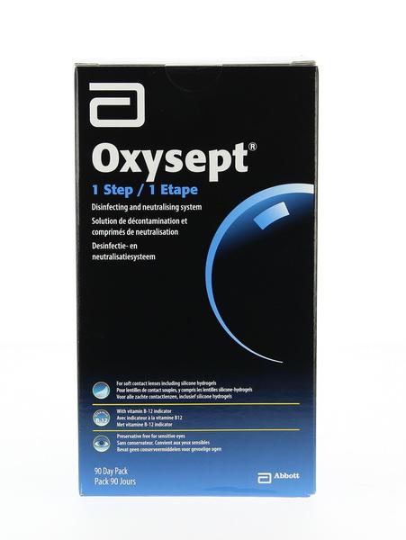 OXYSEPT Pack 3 mois 3 x 300 ml