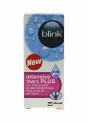 עדשות מגע תמיסות AMO BLINK INTENSIVE TEARS Plus 10ml