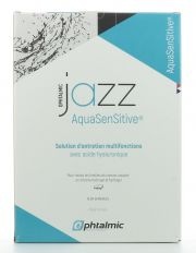 Contact lenses easy-care-solutions OPHTALMIC JAZZ AQUA SENSITIVE 3x350ML
