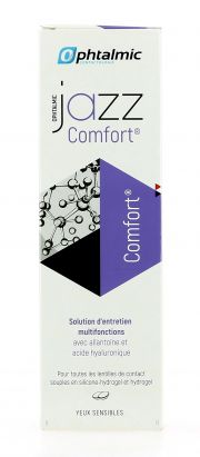עדשות מגע תמיסות OPHTALMIC JAZZ COMFORT 360ML