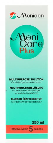 Kontaktlinsen Pflegemittel MENICON MENICARE PLUS 250ml