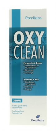 Contact lenses easy-care-solutions PRECILENS OXYCLEAN 360 ML