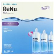 Contact lenses easy-care-solutions BAUSCH & LOMB RENU 3x360ml