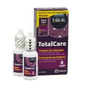 Contact lenses easy-care-solutions AMO TOTAL CARE NETTOYAGE 2x15 ml