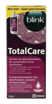 עדשות מגע תמיסות AMO TOTALCARE DECONTAMINATION 120 ml
