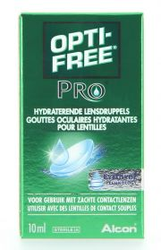 Contact lenses easy-care-solutions ALCON / CIBAVISION OPTI-FREE PRO HYDRATANT Flacon de 10ml