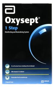 Contact lenses easy-care-solutions AMO OXYSEPT 1 Etape Pack 2 x 300 ml