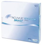 עדשות מגע JOHNSON & JOHNSON  1 DAY ACUVUE MOIST for Astigmatism 90