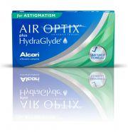 Lentilles de contact ALCON / CIBAVISION AIR OPTIX PLUS HYDRAGLYDE FOR ASTIGMATISM