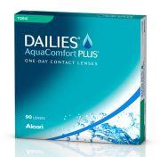 Lentilles de contact ALCON / CIBAVISION DAILIES AQUA COMFORT PLUS TORIC 90