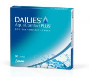 עדשות מגע ALCON / CIBAVISION DAILIES AQUACOMFORT PLUS 90