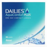 עדשות מגע ALCON DAILIES AQUACOMFORT PLUS 90