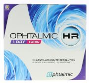 Lentilles de contact OPHTALMIC OPHTALMIC HR 1 DAY TORIC 90